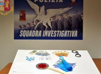 Mazara, un 44enne arrestato per spaccio di droga
