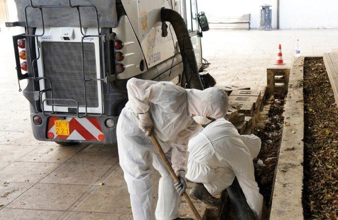 Alcamo, pulizia delle caditoie cittadine