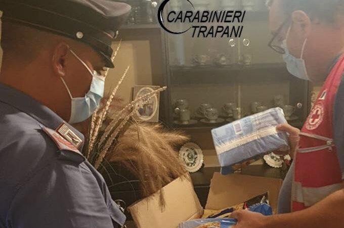 Non mangia da giorni, i carabinieri portano la spesa ad una 90enne invalida