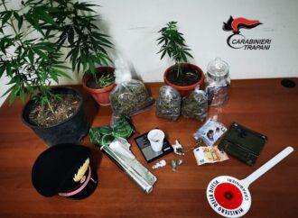 Controlli antidroga dei carabinieri di Trapani, scattano due arresti