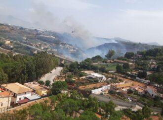 L'82° Centro Csar dell'Aeronautica Militare effettua intervento antincendio ad Alcamo