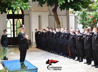 Visita del nuovo comandante della Legione carabinieri Sicilia presso il comando provinciale di Trapani