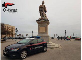 Servizio coordinato dei carabinieri di Trapani, scattano un arresto e due denunce
