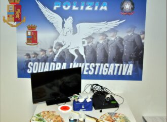 Mazara, la polizia arresta un mazarese per spaccio di droga