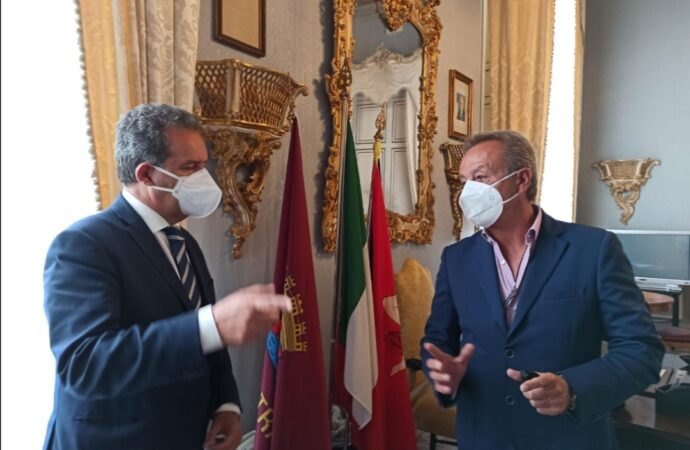 Trapani, Tranchida riceve la visita di Massimo Grillo