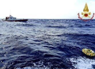 """I Vigili del Fuoco celebrano la """"Giornata della memoria e dell'accoglienza"""" a Lampedusa"""