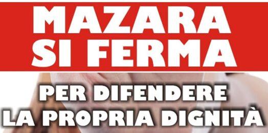 """VIDEO –  Stasera in piazza della Repubblica la Manifestazione """"Mazara si ferma"""""""