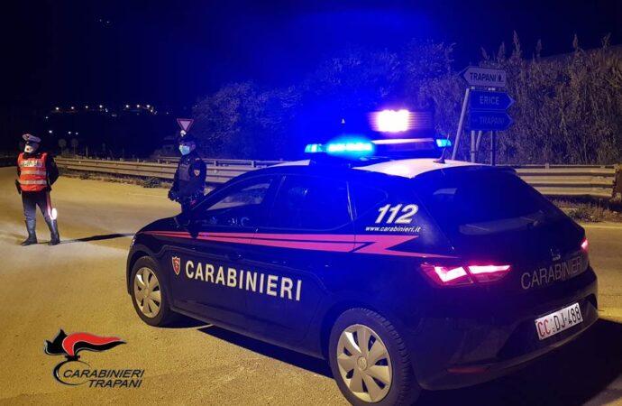 Controllo straordinario del territorio a Trapani, i carabinieri denunciano 3 persone