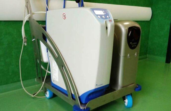 Raccolta fondi, acquistata apparecchiatura per il reparto Covid dell'ospedale di Mazara