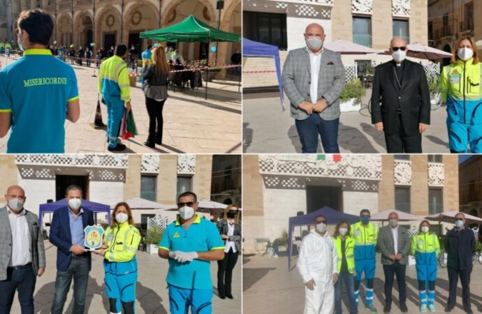 Coronavirus, 4 positivi su 800 test eseguiti stamattina in piazza a Mazara