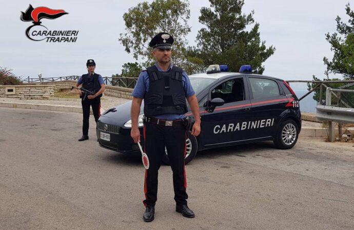 Castellammare, una 61enne denunciata dai carabinieri