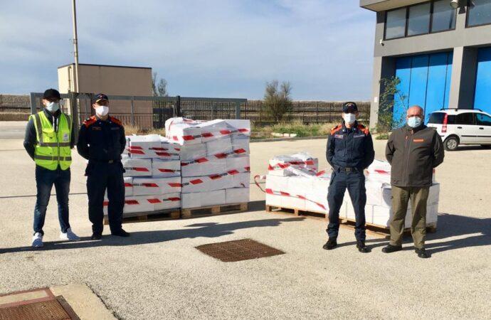 Mazara, la Capitaneria di porto dona oltre 600 kg di pesce in beneficenza