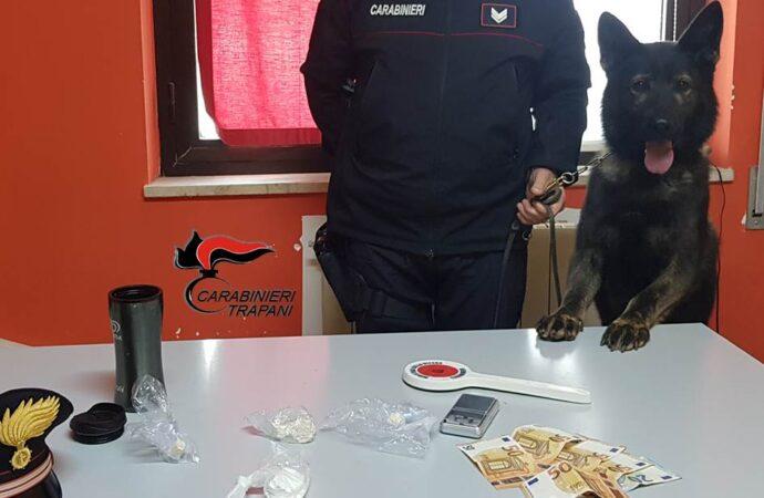Trovato con cocaina ed eroina in casa, un 35enne arrestato dai carabinieri di Trapani