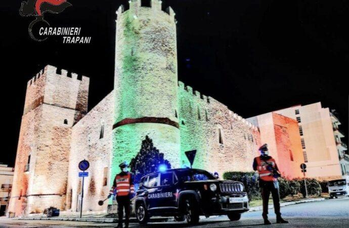 Controlli dei carabinieri del comando provinciale di Trapani, 15 giovani violano le misure anti-Covid ad Alcamo