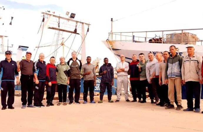 +++L'Antartide e il Medinea hanno lasciato il porto di Bengasi+++