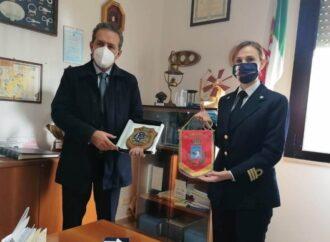 Marsala, il sindaco Grillo in visita alla guardia costiera
