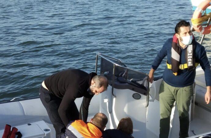 Marsala, la capitaneria soccorre una donna in mare