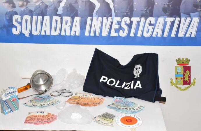 Mazara, la polizia arresta una persona per detenzione di cocaina