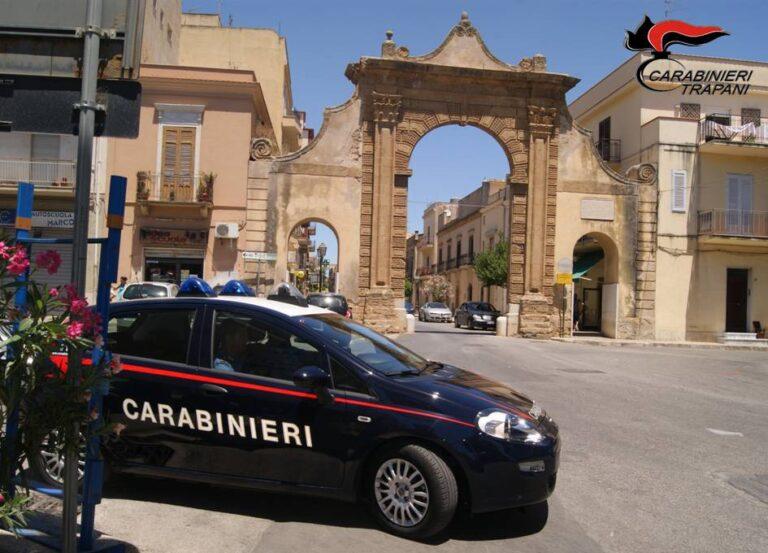 Furto e tentata rapina, due persone denunciate dai carabinieri di Castelvetrano