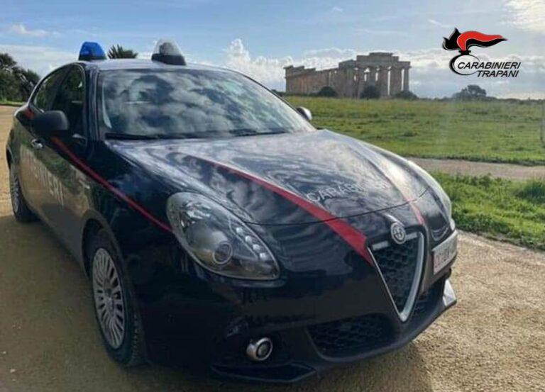 Castelvetrano, carabinieri arrestano un trentenne per furto in un'abitazione
