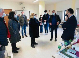 Il Sindaco Giacalone in visita all'Istituto Tecnico per Geometri di Petrosino