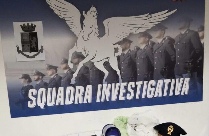 Mazara, operazione antidroga della polizia con sequestro di cocaina