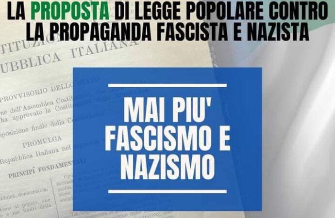 Proposta di legge popolare contro la propaganda fascista, il circolo di Mazara del Movimento Cento Passi aderisce alla raccolta firme