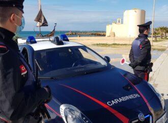Mazara, i carabinieri eseguono un'ordinanza di misura cautelare per atti persecutori