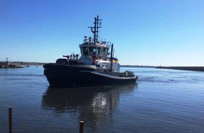 Prove tecniche al porto di Mazara per il traghetto per Pantelleria