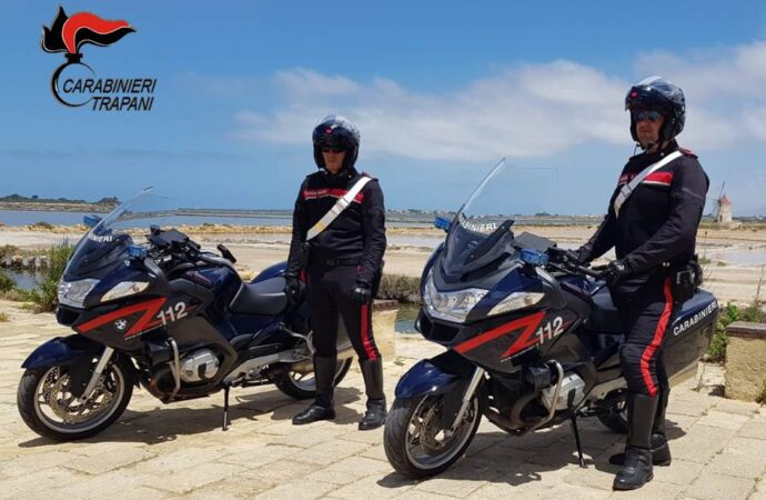 Controlli dei carabinieri a Marsala, Petrosino e Pantelleria