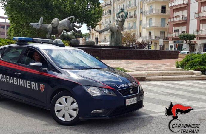 Controlli dei carabinieri di Marsala, scattano un arresto e denunce