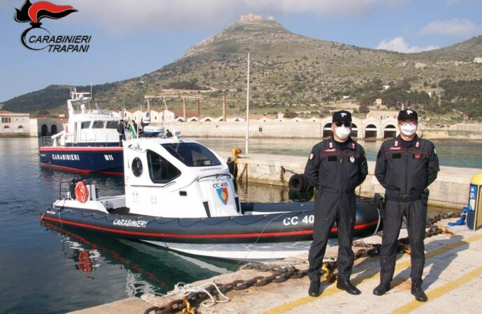 Controlli dei carabinieri a Favignana, scatta l'arresto per una 44enne