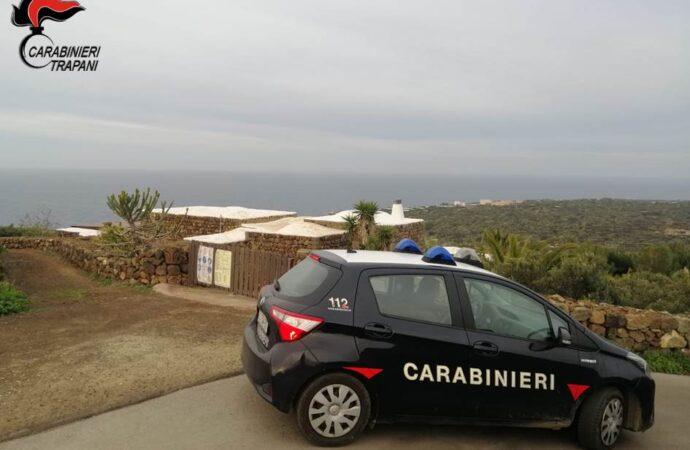 Controlli dei carabinieri a Pantelleria, chiuso un bar per inosservanza delle misure anti-covid