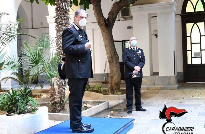 Carabinieri, il comandante Interregionale visita il comando provinciale di Trapani