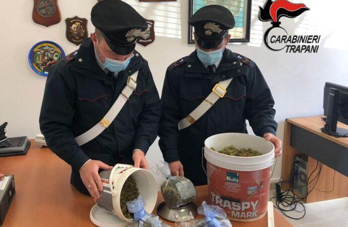 Operazione antidroga dei carabinieri a Pantelleria, scatta un arresto