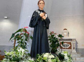 VIDEO  – Mazara, ieri rito di benedizione del simulacro di Santa Gemma giunto da Lucca