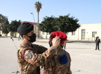 """Trapani, cerimonia di consegna del """"fez"""" ai nuovi Bersaglieri del 6° Reggimento"""