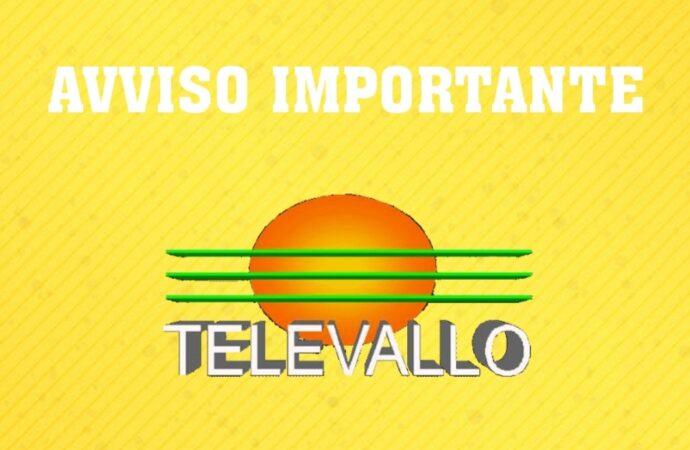 TV – Avviso ai telespettatori di Televallo