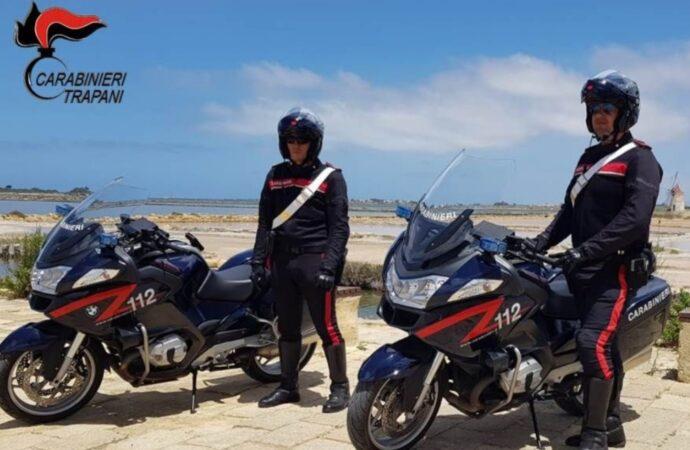 Controlli dei carabinieri a Marsala, 4 persone denunciate