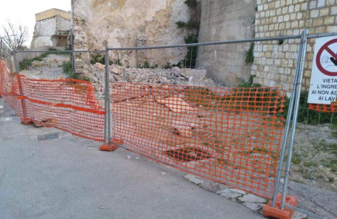 Salemi, lavori di messa in sicurezza nel centro storico