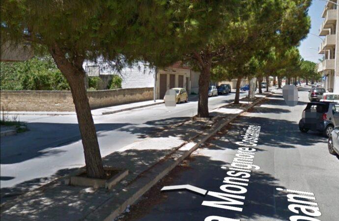 Mazara, verranno rimossi gli alberi in via Mons. Costantino Trapani. Al loro posto una pista ciclabile