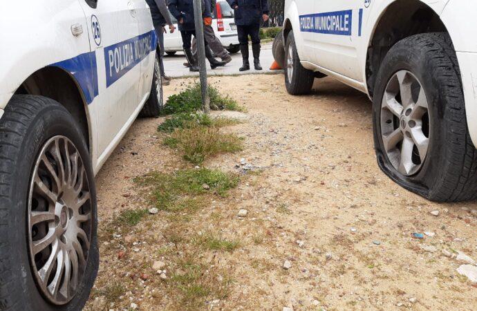 Atto intimidatorio a Marsala, danneggiate le auto dei vigili urbani