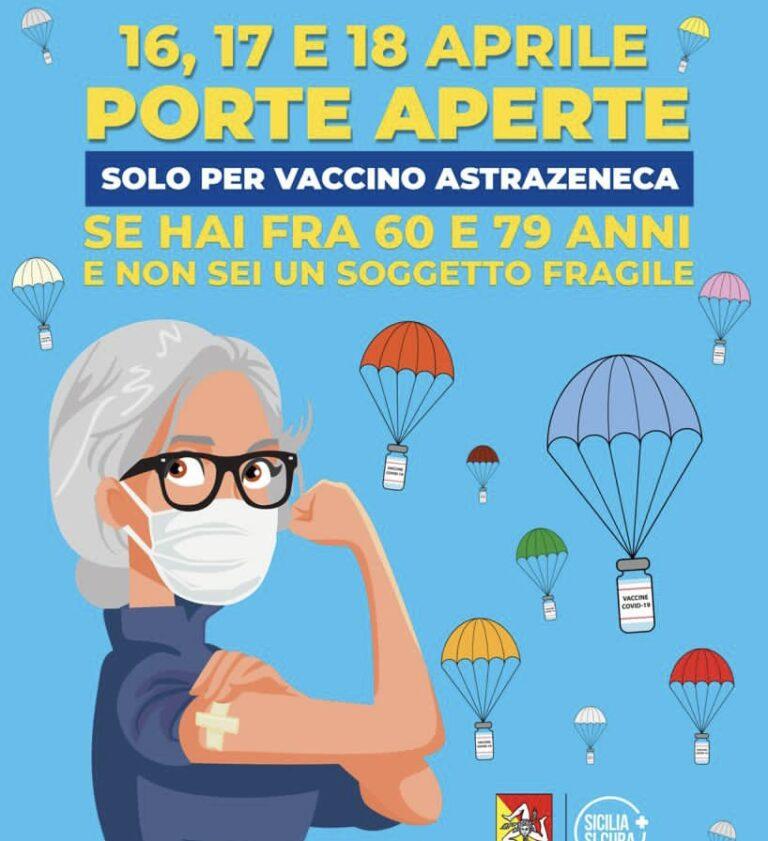 Asp, Open day vaccinazioni anche nel Trapanese