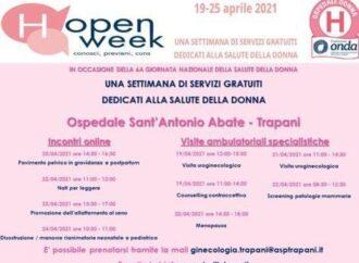 Giornata nazionale della Salute della Donna, dal 19 al 25 aprile porte aperte all'ospedale di Trapani