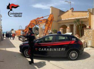 Castelvetrano, ricominciano le demolizioni nella frazione di Triscina