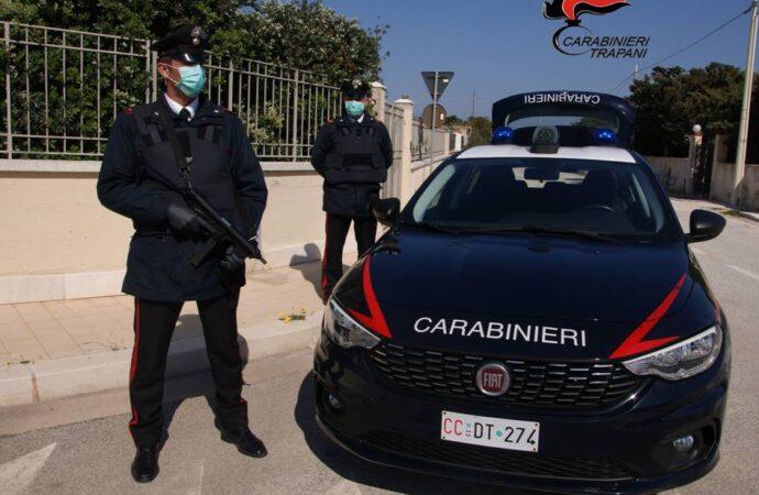 Trapani, i carabinieri eseguono un'ordinanza di misura cautelare per atti persecutori