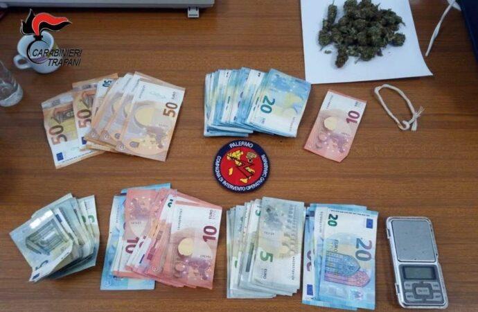 Alcamo, un arresto per spaccio di droga