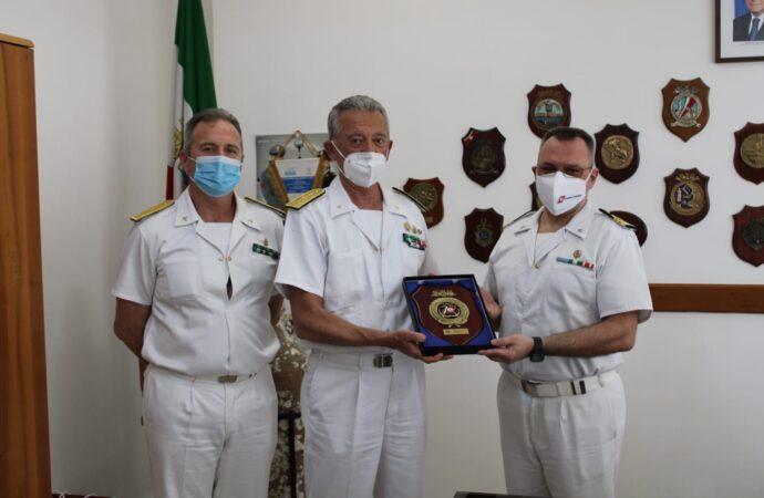 Mazara, in visita il comandante generale del Corpo delle Capitanerie di Porto