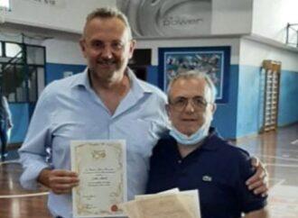 Sport, riconoscimento per  presidente della Virtus Pallacanestro Mazara – Alberto Ditta
