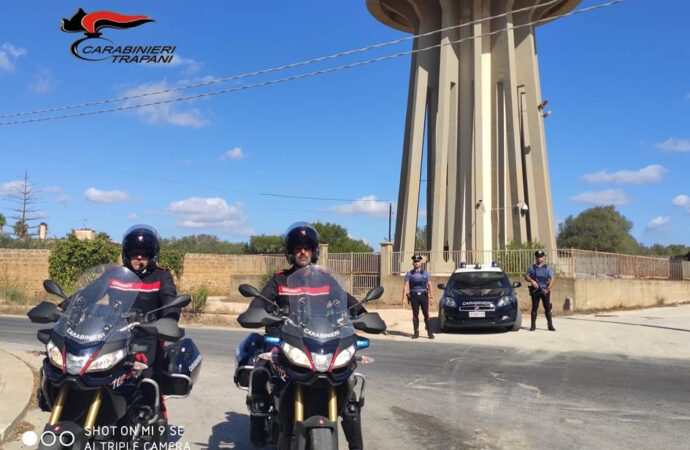 Controlli dei carabinieri in occasione del 2 Giugno, a Mazara scattano 8 denunce
